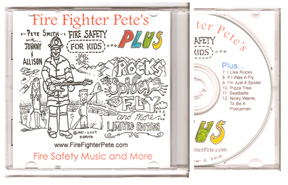 "Fire Fighter Pete's ""Fire Safety PLUS"" CD"